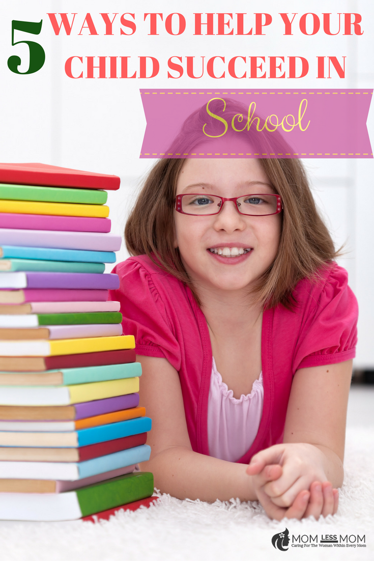 5 Ways to Help your Child succeed in school