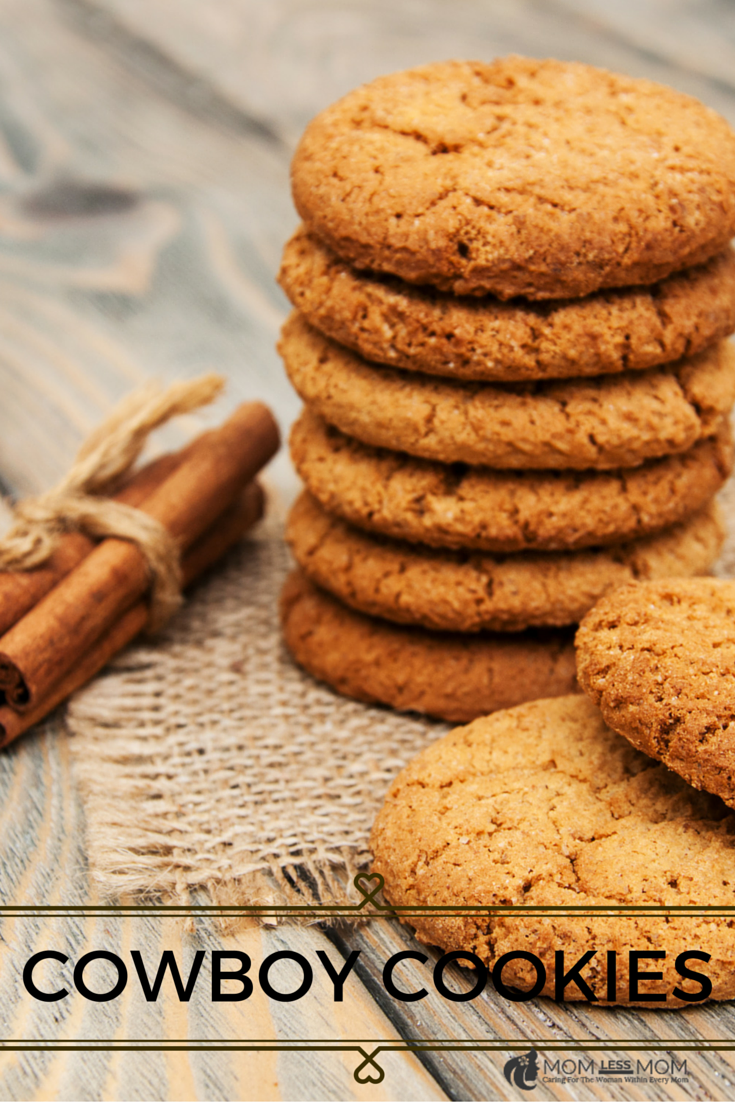 Homemade Healthy Cookies Recipe- Cowboy Cookies