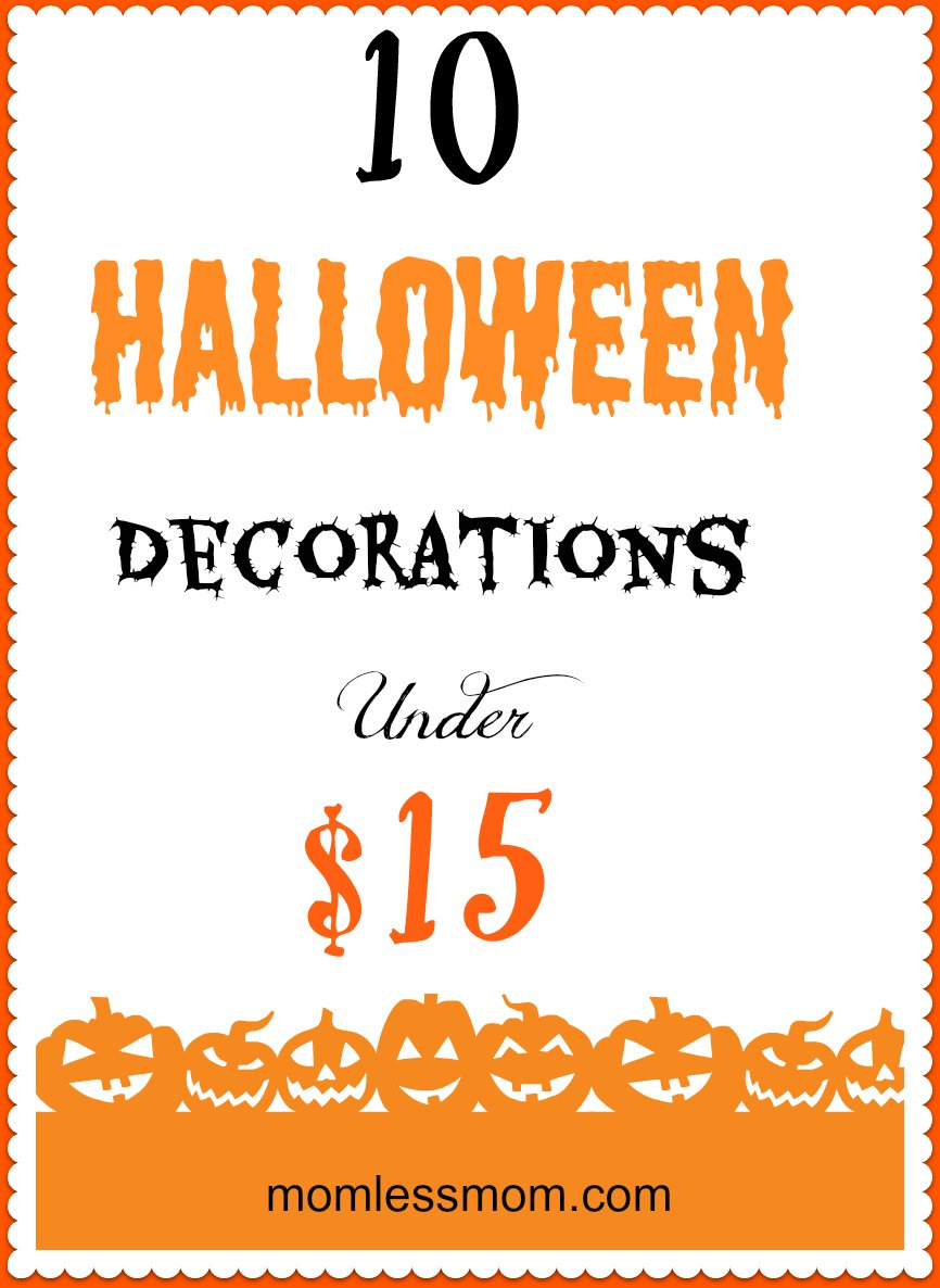 Halloween Decorations under $15