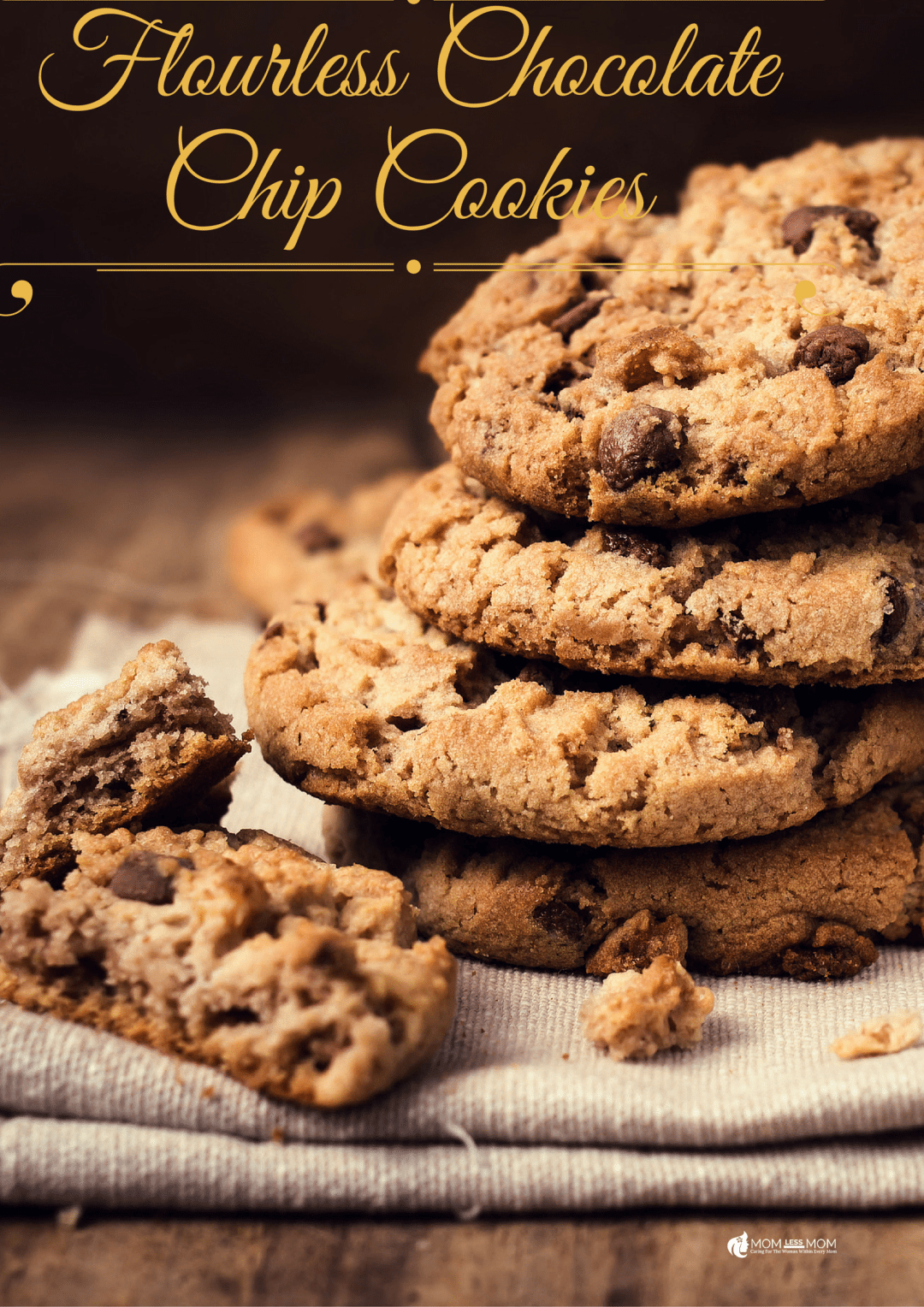 Flourless Chocolate Chip Cookies Recipe