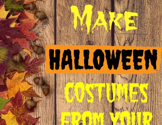 Make Halloween Costumes from Closet