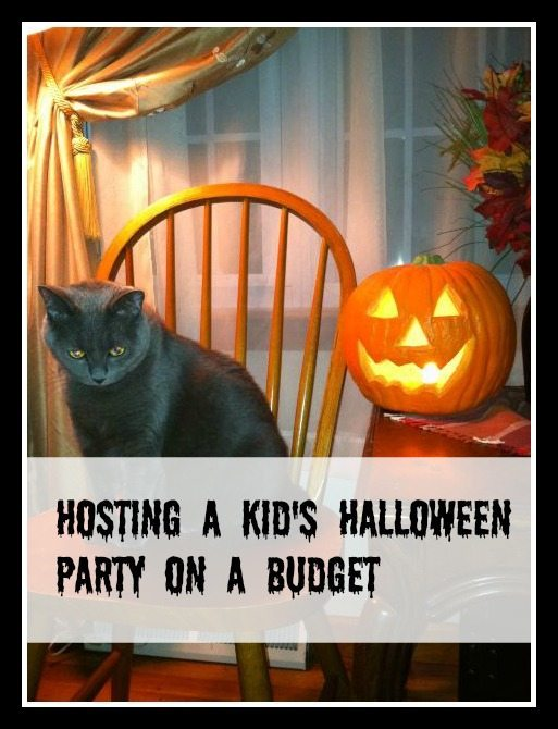 Hosting Kids Halloween Party on a Budget
