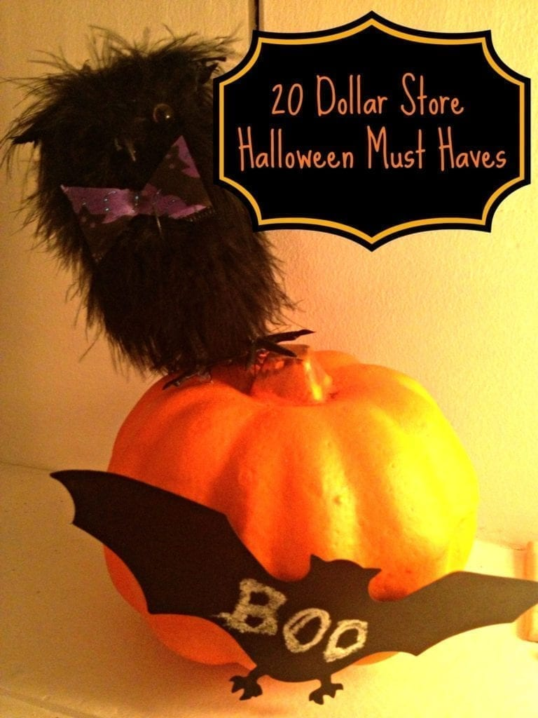 20 Dollar Store Halloween Must Haves