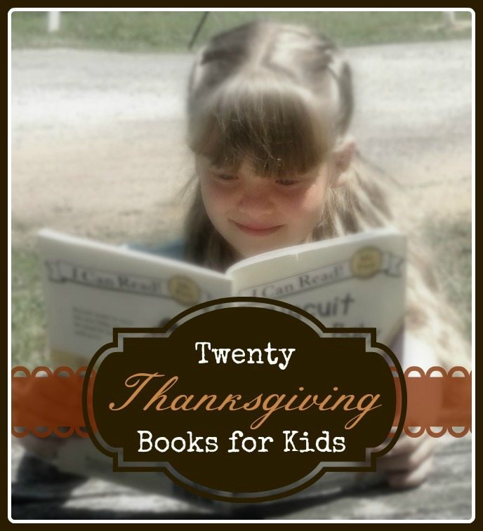 Books for Kids to Read this Thanksgiving!