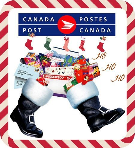 Write Letters to Santa with Canada Post