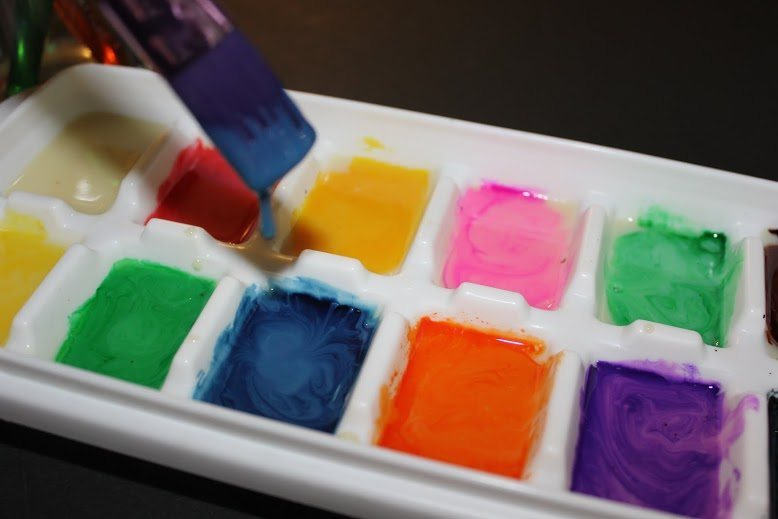 How to Make edible Paint for Kids craft- Directions