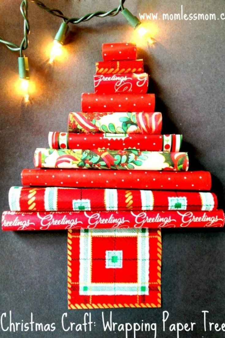 If you are looking for an easy DIY for holidays, make this wrapping paper DIY. #ChristmasDIY