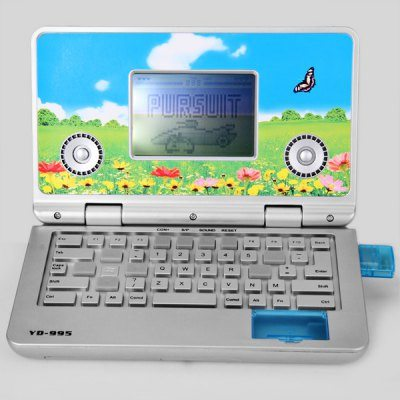 Mini Palmtop Style Educational Game Player with Game Driver Memory Stick