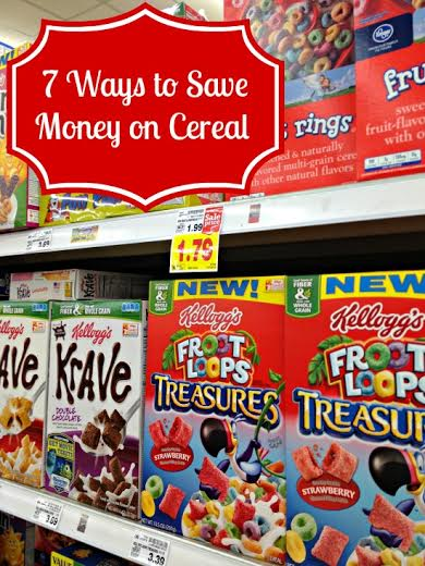 7 Ways to Save on Cereal
