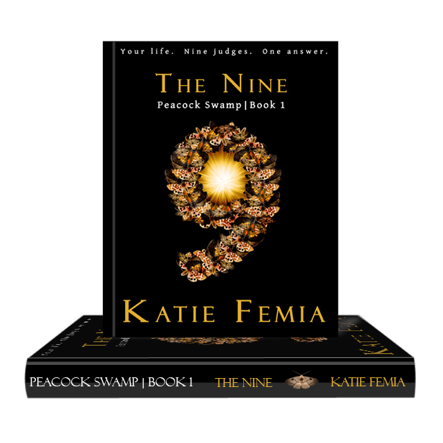 Author Katie Femia's Debut Novel, Peacock Swamp, The Nine