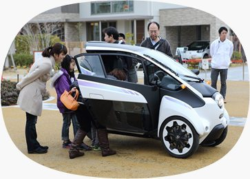 Toyota Presents i-Road, A Revolutionary Urban Transportation
