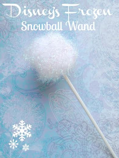 FROZEN Inspired Party Theme ideas- Snowball Wand