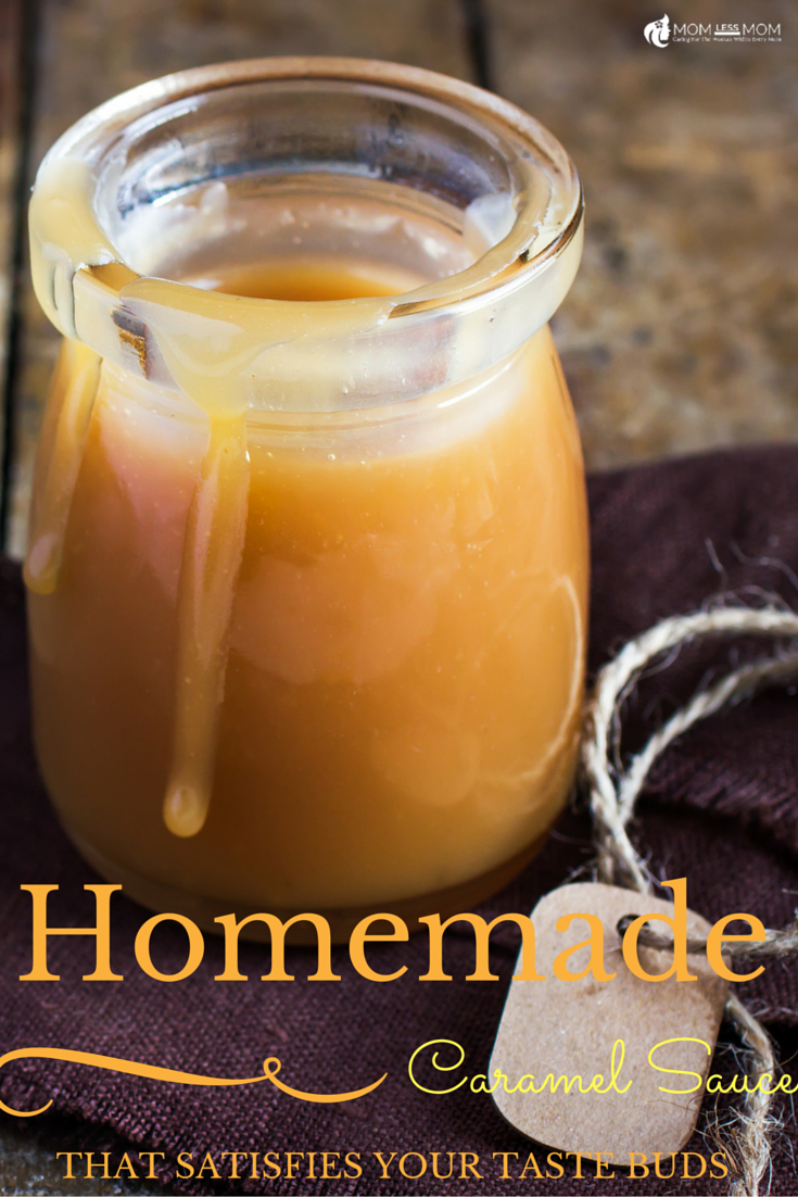 Easy Homemade Caramel Sauce
