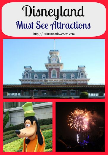 Disneyland Must See Attractions