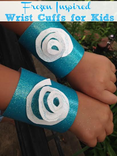 Frozen Inspired Party Theme Idea- Princess Cuff
