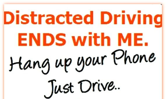 Distracted Driving- Stop it Today!