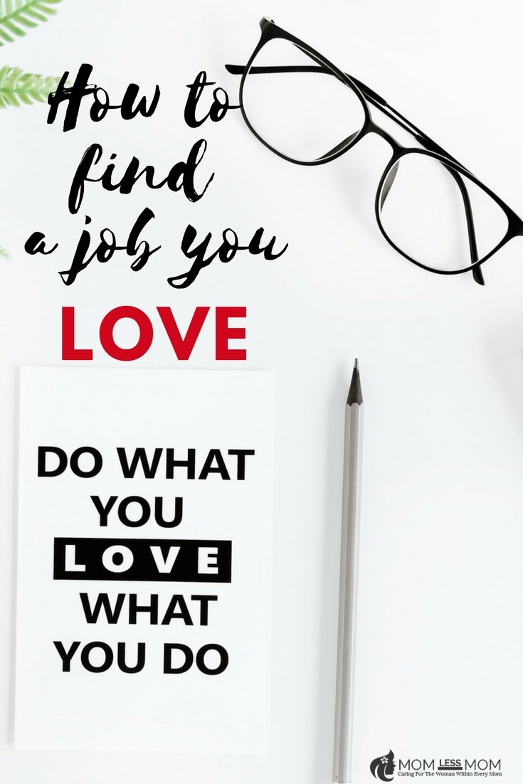 How to find a job you love