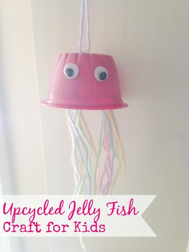 Craft ideas for Kids- Jellyfish DIY
