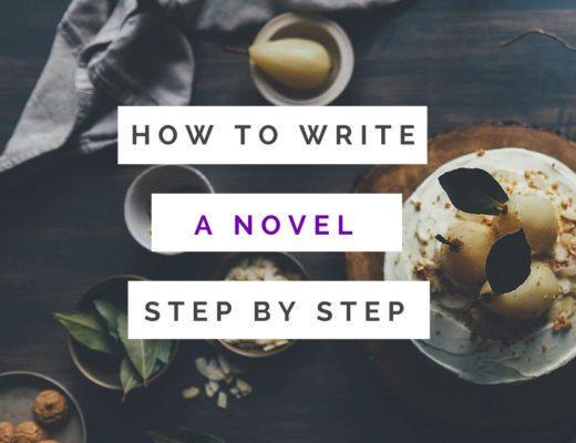 how to write a novel step by step