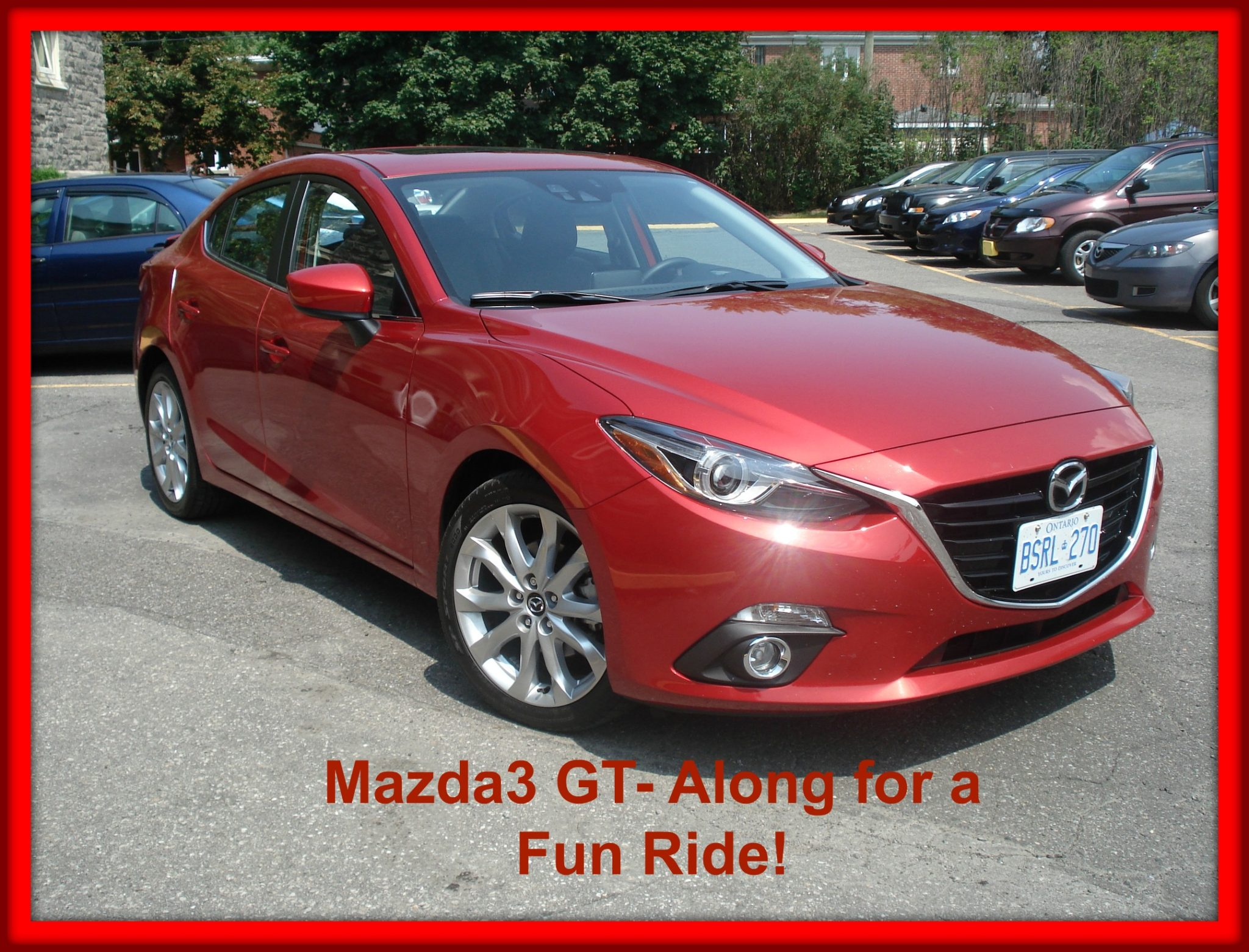 Mazda3 GT 2014- A Review