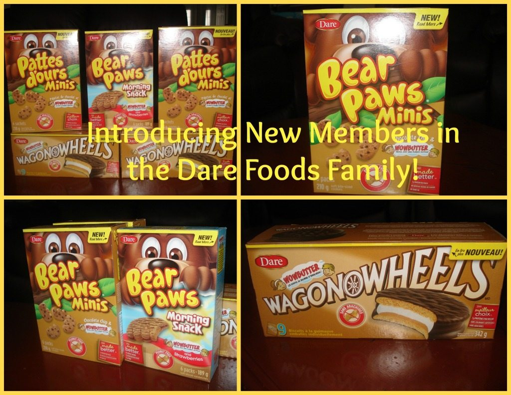 Dare Foods Introduces New Peanut Free Snacks!