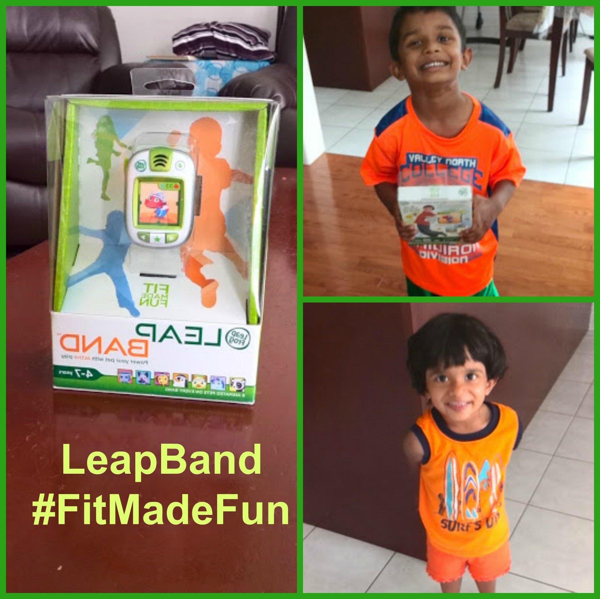 LeapFrog's LeapBand- #FitmadeFun