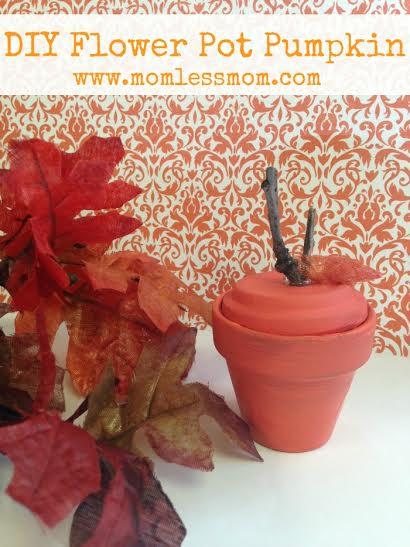 Fall DIY- Pumpkin Craft