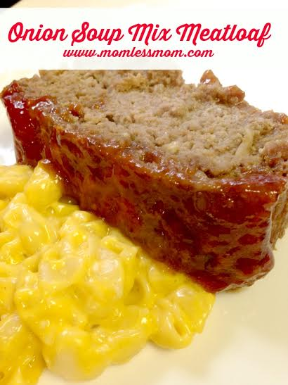Onion Soup Meatloaf Recipe- Perfect Meal Idea for Fall!