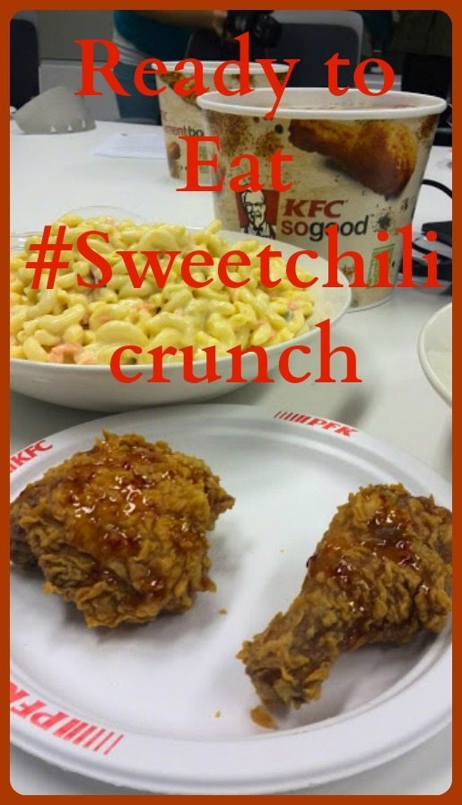 KFC #Sweetchilicrunch chicken