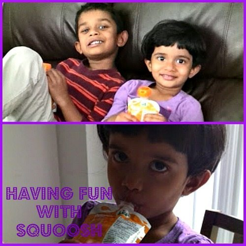 Squoosh- Healthy Snack Idea for Kids