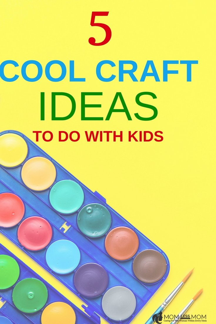 If you are looking for easy craft ideas for kids to do at home, I have a list of 5 cool crafts ideas for boys. These art and craft ideas for home are pretty fun to do with little ones #DIY #craftideas #kidsactivities