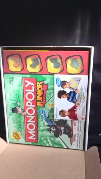 Monopoly Junior Game from Influenster #GameNight