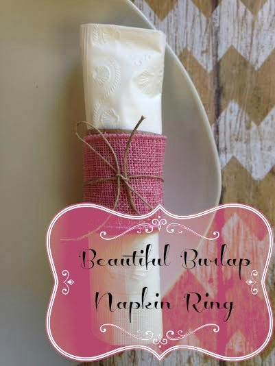 DIY Christmas Napkin Ring Ideas