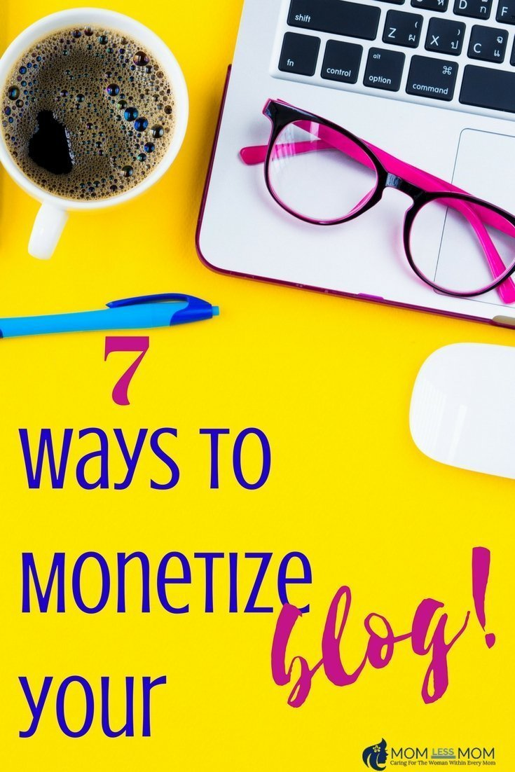 Here are 7 ways to monetize your blog and make a decent income #blogging #bloggingtips
