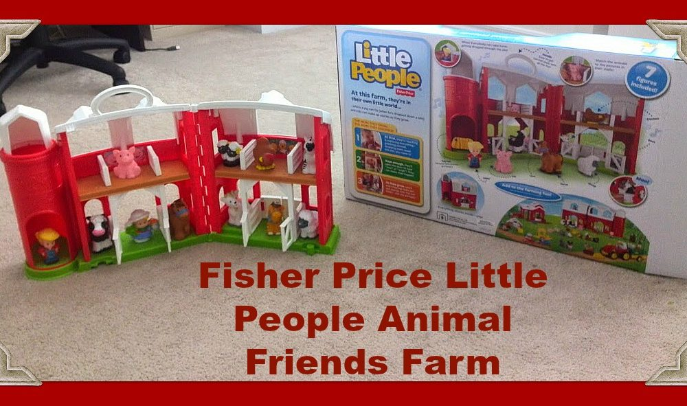 Fisher Price Little People Animal Friends Farm