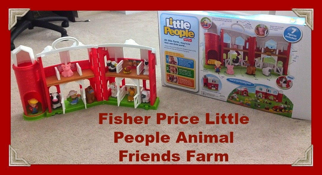 Fisher Price Little People Farm Animals Play Set Giveaway