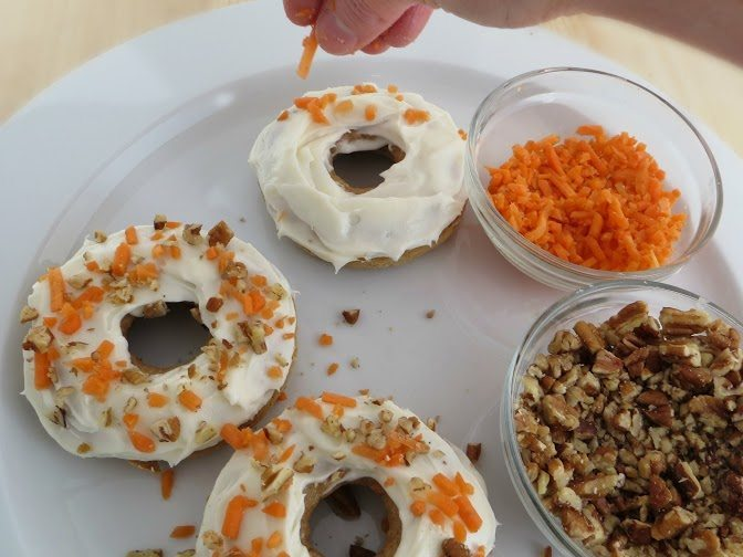 Baked Carrot Cake Donuts Recipe