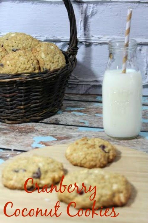 Oatmeal Cranberry White Chocolate Cookie