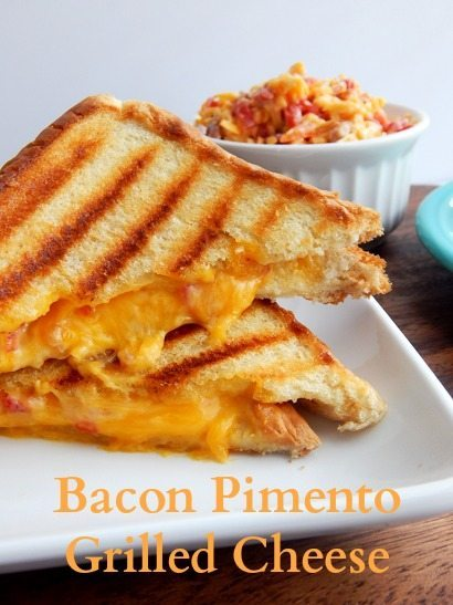 Bacon Pimento Grilled Cheese- Best Grilled Cheese Recipe Ever!