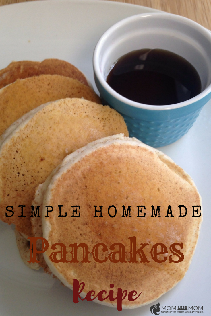 Simple Homemade Pancakes Recipe