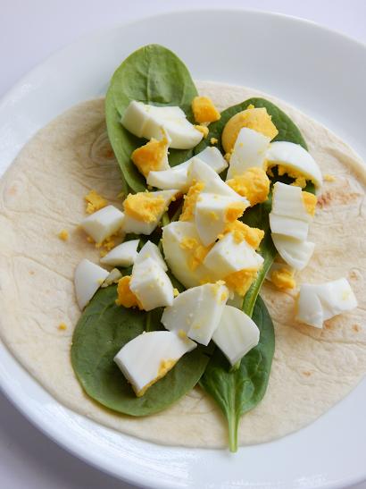 Avacado Egg Wrap Breakfast Recipe