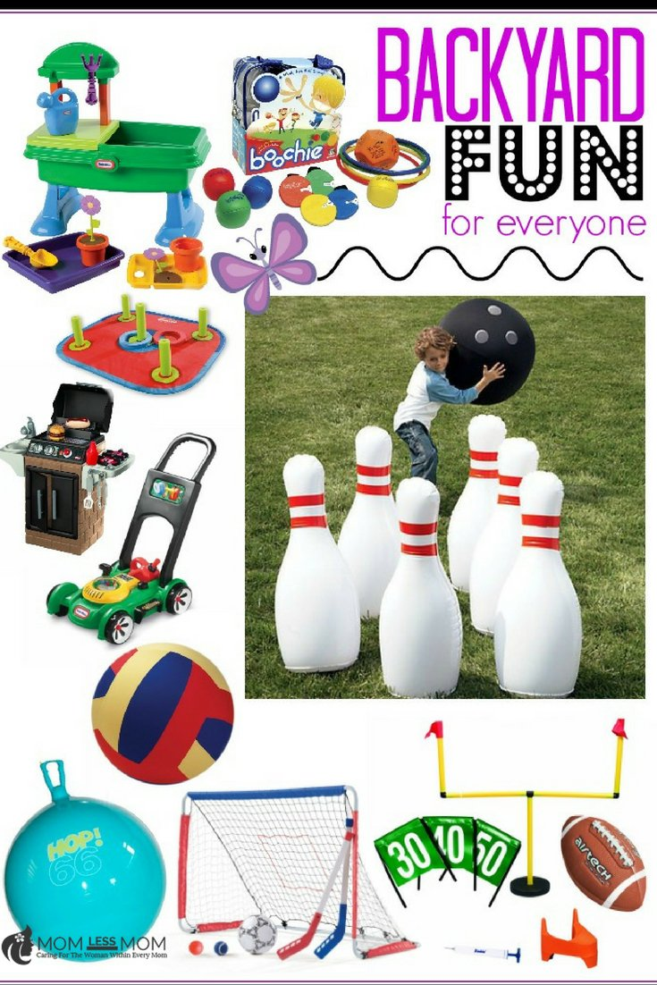 List of 10 backyard toys for kids to have fun and enjoy summer!