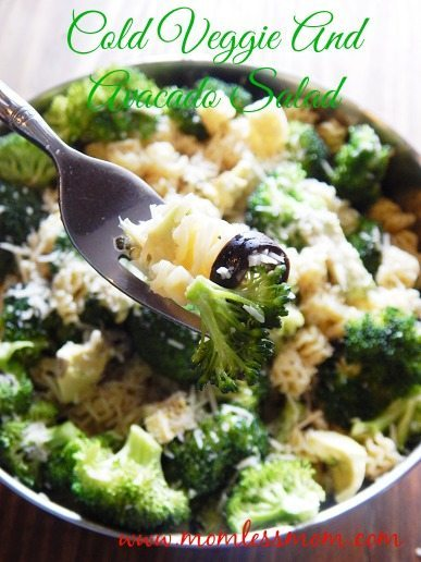 Cold Pasta Salad Easy Recipe