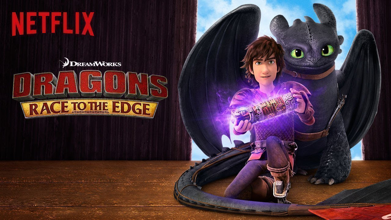 Dragons, Race to the Edge-Netflix Original