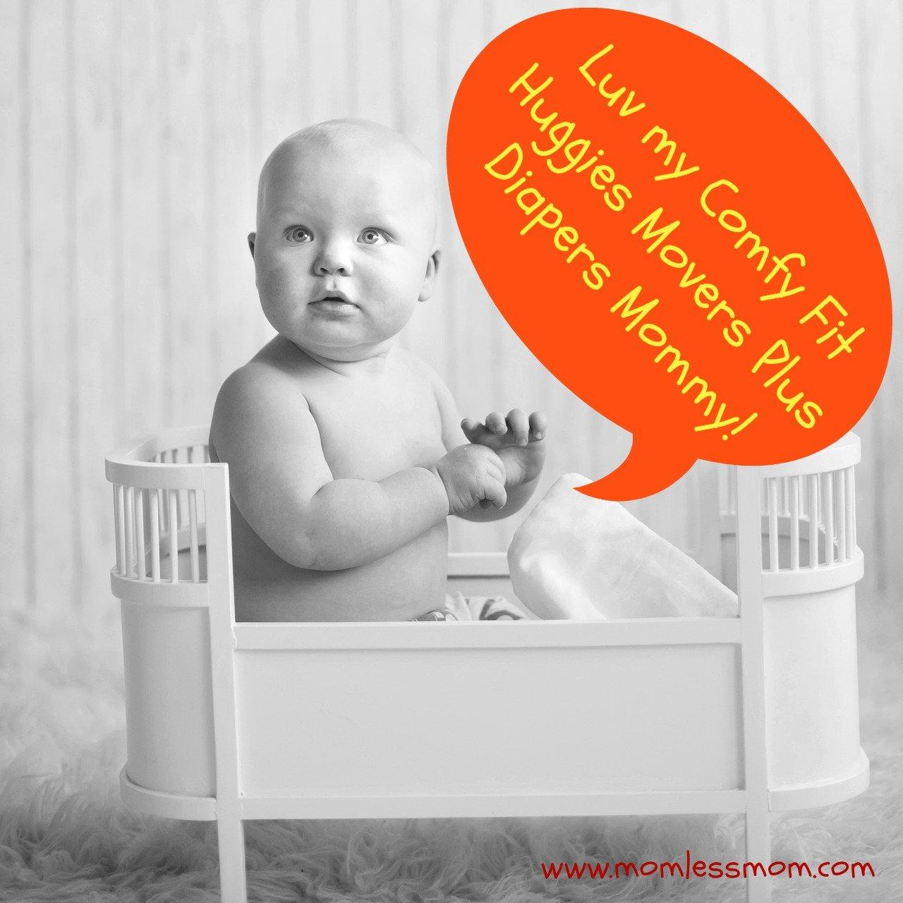 Huggies #LittleMoversPlus Diapers sizes 1-6