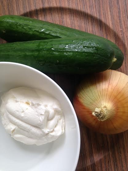 Cucumber Onion Salad Recipe