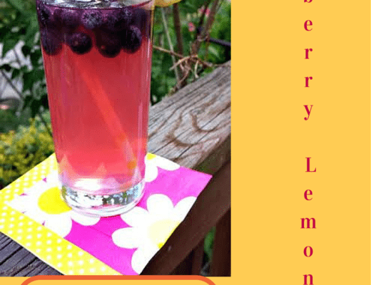 Recipe for Blueberry Lemonade