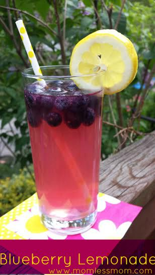 Homemade Blueberry Lemonade Recipe