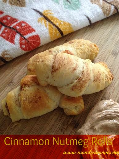 Cinnamon NutMeg Rolls Recipe