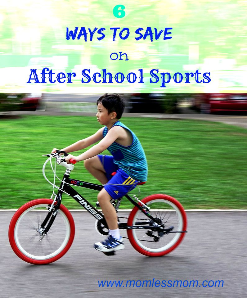 6 Ways to Save Money on After School Sports